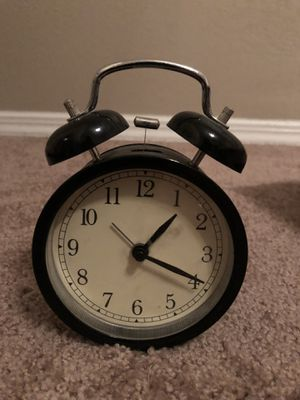 Ikea Alarm Clock Black for Sale in Dallas, TX