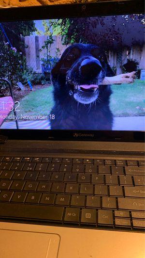Gateway black laptop for Sale in Fresno, CA