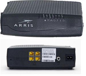 Arris Touchstone DG860A Cable Modem DOCSIS 3.0 compliant, High Speed Data Gateway - Wireless - SPECTRUM compatible for Sale in Industry, CA