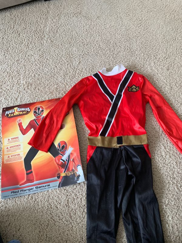 Power rangers samurai costume