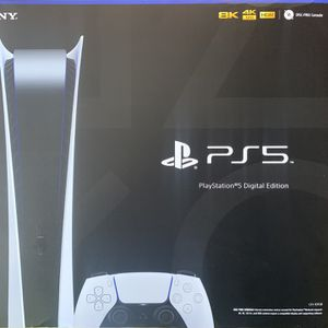 PlayStation 5 Digital Edition (SEALED/UNOPENED) for Sale in Garden Grove, CA