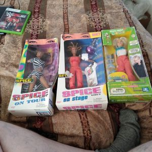 3 boxed celebrity dolls $3 for all for Sale in Everett, WA