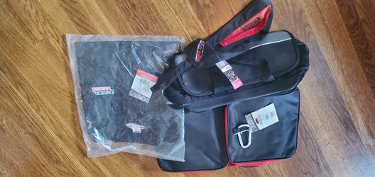 Lincoln Electric Welding Jacket XL, Bag And Doo Rag for Sale in Portland,  OR