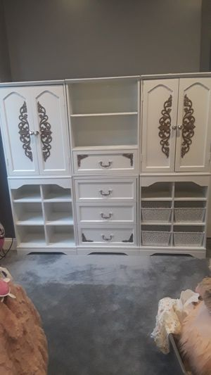 Closet/book shelving wall unit for Sale in Baltimore, MD