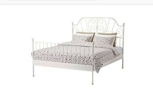 Queen bed frame for Bed for Sale in Bala Cynwyd, PA