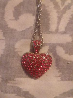 Valentine's heart necklace for Sale in Hattiesburg, MS