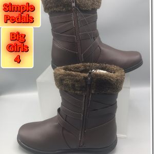 Simple Pedals Brown Winter Big Girls Boots 4 for Sale in Tinton Falls, NJ