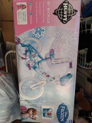 "Brand new in box, Huffy Frozen 16"" girls bike for Sale in Federal Way, WA"