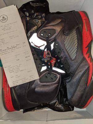 Nike Air Jordan 5 Retro 'Satin Bred Size 11.5 retail was 205$ for Sale in MONTGMRY, IL