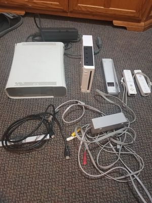 Xbox 360, and a Wii console for Sale in Bath, NY