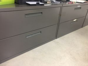 Herman Miller Lateral File Cabinets with key for Sale in Artesia, CA
