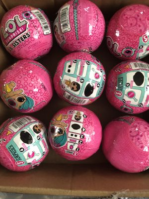 Lot of 9 LOL SURPRISE Eye Spy Balls Lik Sisters for Sale in West Chicago, IL