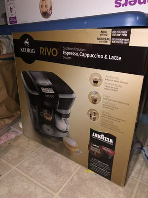 Keurig r500 Rivo Cappuccion and Latte System for Sale in San Lorenzo, CA
