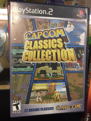 Capcom Classics Collection PS2 for Sale in Carmichael, CA