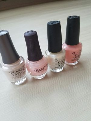 Pink, nude, glitter nail polish bundle, lot, spring, opinions, spiritual, Morgan Taylor for Sale in Seattle, WA