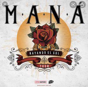 Mana Rayando el Sol concert tickets for Sale in Fontana, CA