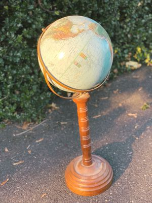Old vintage school globe for Sale in Graham, WA