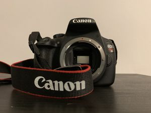 CANON EOS REBEL T5 GREAT CONDITION for Sale in Springfield, MA