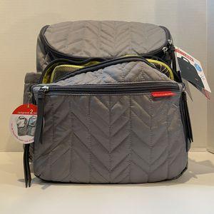 Skip Hop Forma Backpack Diaper Bag, Gray for Sale in Camas, WA