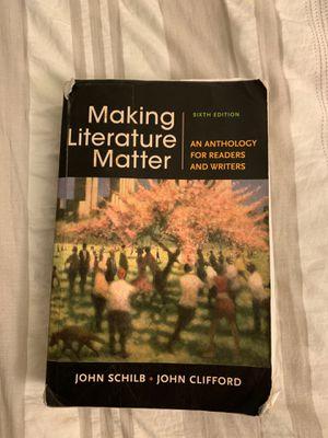 Making Literature Matter for Sale in Fontana, CA