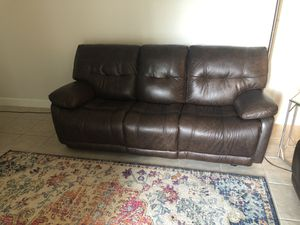 Leather Reclining Couches for Sale in Melbourne, FL