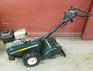 Excellent condition and runs perfect 6 horsepower Craftsman farm yard tiller for Sale in Chicago, IL