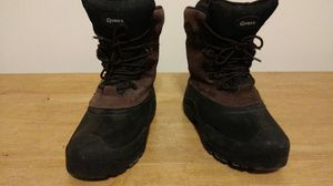 Quest leather and rubber high heel work boots, size 10. for Sale in Cincinnati, OH