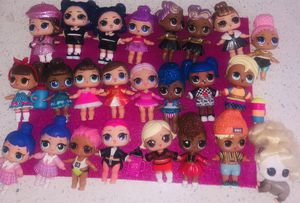 Lol surprise dolls GUC / incomplete/ 5 to 10 each for Sale in West Palm Beach, FL