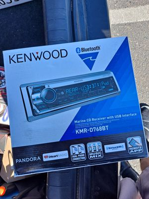 New KENWOOD Marine Ready Bluetooth USB for Sale in Fresno, CA