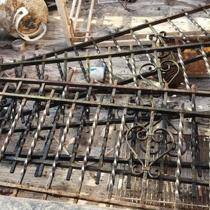 Rought Iron Fence Rail .. $20ea for Sale in Portland, OR