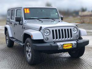 2016 Jeep Wrangler Unlimited for Sale in Arlington, WA