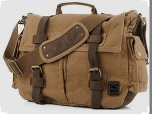 S.C. COTTON Vintage Brown Style Messenger Bag for Sale in Los Angeles, CA