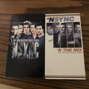 2 NSYNC vhs for Sale in Mansfield, MA