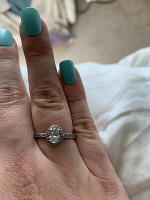Pandora CZ sterling silver ring for Sale in Morgantown, WV