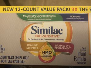 Similac Pro Sensitive for Sale in District Heights, MD