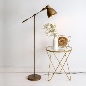 Antique Brass Floor Lamp for Sale in Miami, FL