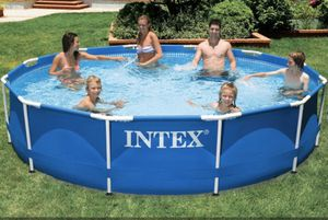 Intex 12ft x 30in Metal Frame Swimming Pool for Sale in Vienna, VA