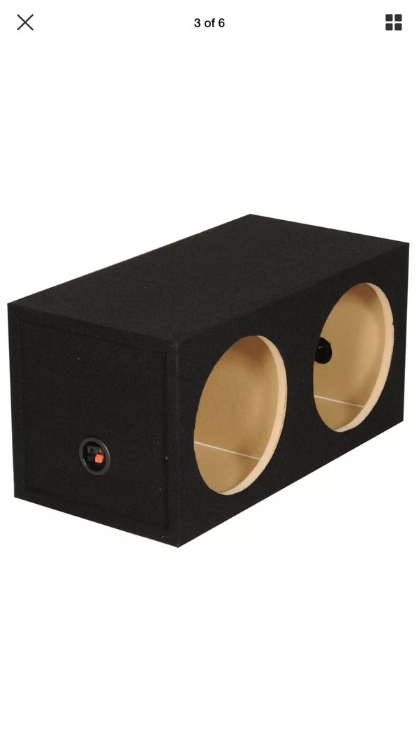 Subwoofer box enclosure