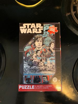 STARWARS GAME JIGSAW 🧩 PUZZLE DISNEY for Sale in Fort Lauderdale, FL