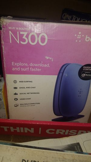 Belkin modem new for Sale in Prineville, OR