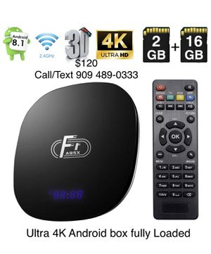Android 4k media box and more devices for Sale in Fontana, CA