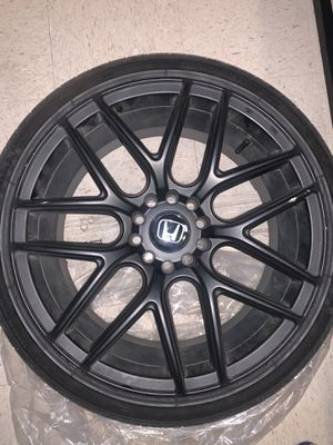 NS SERIES Matte Black Rim & Tire 18's for Sale in Sacramento, CA