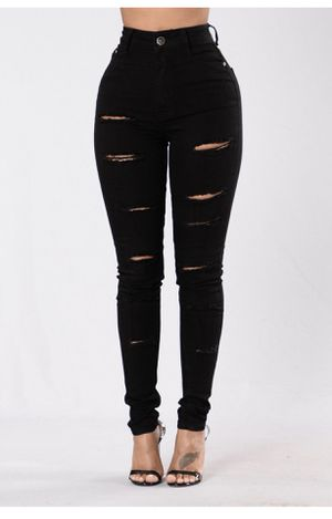 Black high waisted jeans for Sale in Detroit, MI