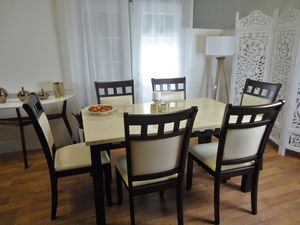 NEW White Dining room table set dining table for Sale in Baltimore, MD