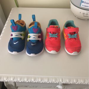 Toddler Girl Nike Shoes for Sale in Buford, GA