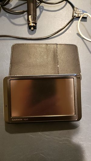 Garmin Nuvi 760 with lifetime traffic and maps for Sale in Snohomish, WA
