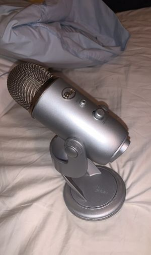 Blue Yeti Microphone [Sale or Trade] for Sale in Beaver Dam, WI