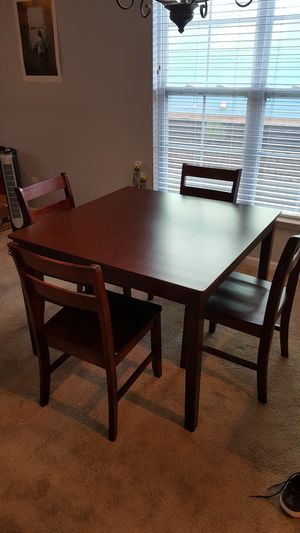 Dining table and chairs for Sale in Davidson, NC