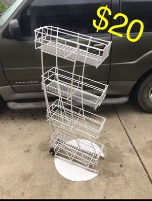 Snapple Dr Pepper rack with wheels for Sale in Ontario, CA