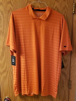 NWT Tiger Woods Golf Shirt - XL - Orange for Sale in Osseo, MN